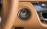 Lexus LC500 ignition button