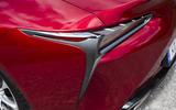 Lexus LC500 rear LED lights