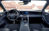 2017 Lexus LC 500 Sport+ review cabin