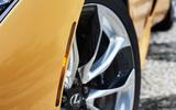 2017 Lexus LC 500 Sport+ review wheel