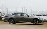 Lexus LS 500h F Sport side profile