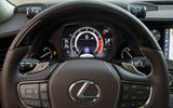 Lexus LS 500h F Sport instrument cluster