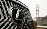 Lexus LS 500h F Sport badging