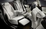 Lexus LS 500h executive seating