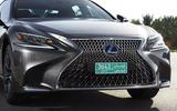 Lexus LS 500h front grille