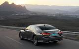 Lexus LS 500h rear