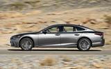 Lexus LS 500h side profile