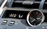 Lexus NX analogue clock