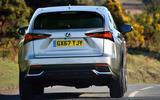 Lexus NX rear