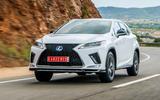 Lexus RX F Sport 2019 front three quarters