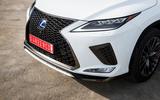 Lexus RX F Sport 2019 front grille