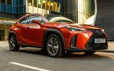 Lexus UX front