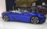 Lexus LC500 Convertible at the LA motor show