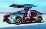 Lexus LF-30 concept - doors open