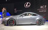 Lexus RC F Track Edition side