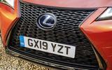 Lexus UX front grille
