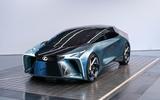 Lexus LF-30 concept - studio three-quarter