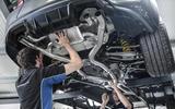 Litchfield BMW M2 Akrapovic exhaust system in situ