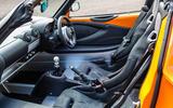 Lotus Elise Cup 250 sports seats