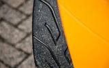 Lotus Elise Cup 250 sport tyres