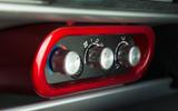 Lotus Elise Sprint switchgear