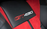 Lotus Evora GT430 badged seats