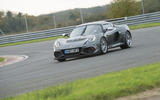 Lotus Exige Cup 430 on track