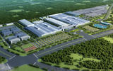 Lotus Technology manufacturing facility architectural image