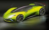 Lotus hypercar render - side