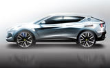 Lotus SUV render - side