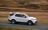 Land Rover Discovery side profile