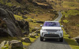 Land Rover Discovery on narrow roads