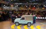 Land Rover Defender production ends