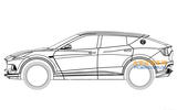 Lotus SUV design revealed in patent diagrams
