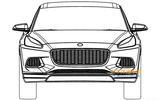 Lotus SUV design revealed in patent diagrams