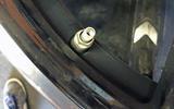 BMW M5 2018 long-term review tyre valves