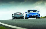 Alpine A110 and McLaren 600LT