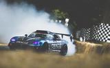 Goodwood festival of speed 2018 - tyre smoke
