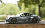 Porsche 718 Cayman side profile