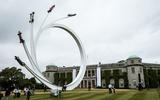 Goodwood's central sculpture celebrates former F1 tsar Bernie Ecclestone