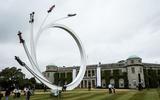 Goodwood's central sculpture celebrates former F1 tsar Bernie Ecclestone