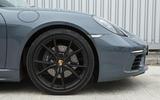 Porsche 718 Cayman black alloys