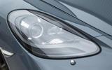 Porsche 718 Cayman headlights