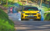 Kia Stinger GT S long-term review burnout