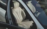 Mercedes-Benz S-Class - front seats