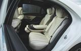 Mercedes-Benz S-Class - rear seat