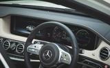 Mercedes-Benz S-Class - steering wheel