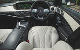 Mercedes-Benz S-Class - driver's seat