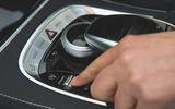Mercedes-Benz S-Class - centre console