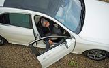 Mercedes-Benz S-Class - door open